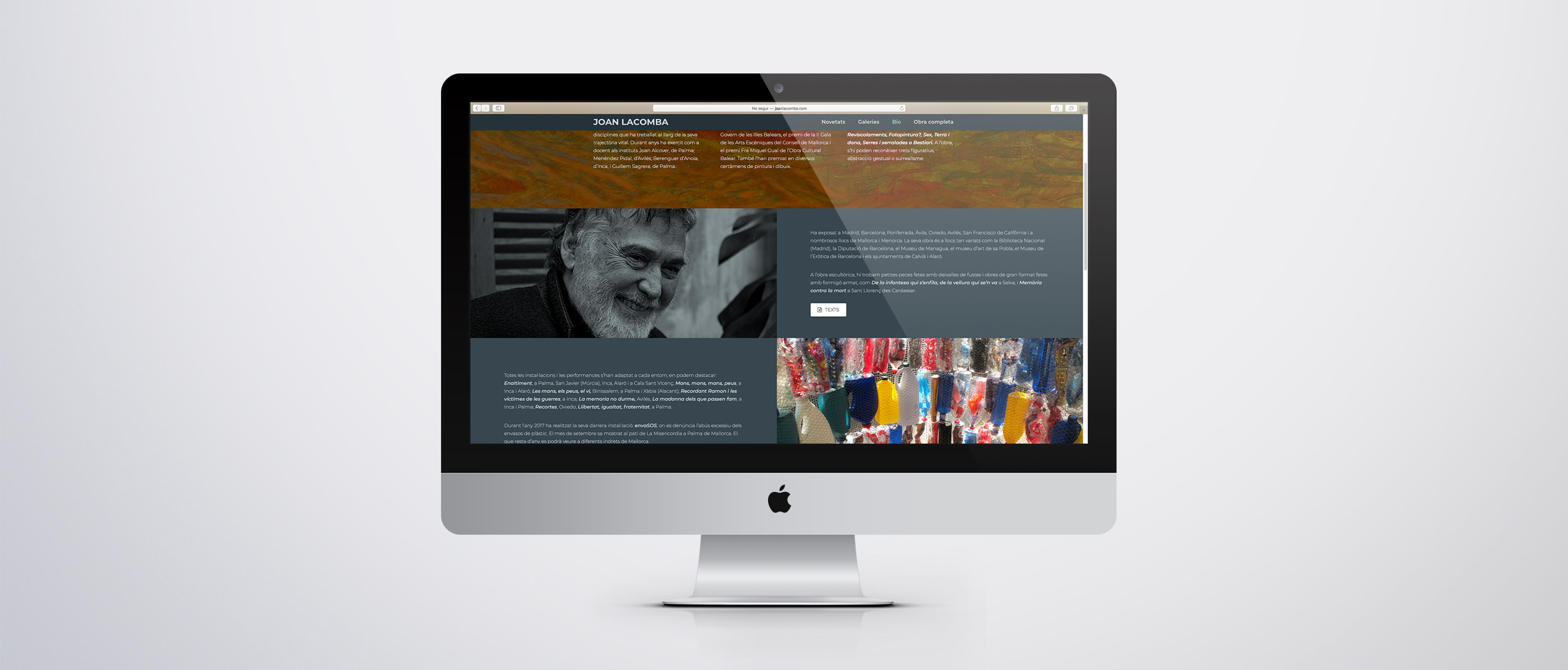 Joan Lacomba webpage